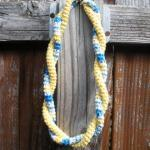 Double Twist Crochet Cotton Necklac..