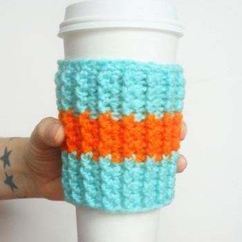 Miami Team Coffee Cozy.